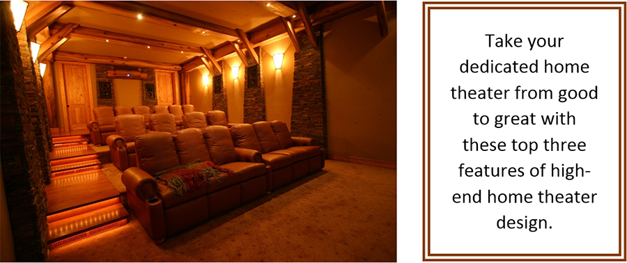 3 Features of an Amazing Home Theater System
